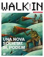poster de la revista walk in