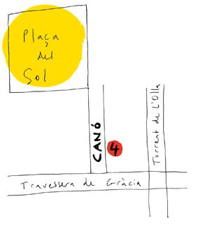 planol del carrer canó