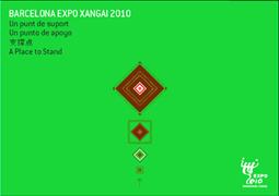 coberta de la publicació sobre l'expo de Xangai